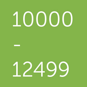 Powerbanks met een capaciteit van 10000- to 12499 mAh