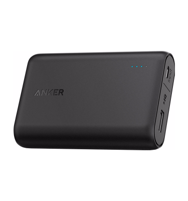 Anker PowerCore 10000 mAh Zwart Powerbank goedkoop online kopen en ook nooit meer een lege accu? Bestel hem nu bij CoolBlue
