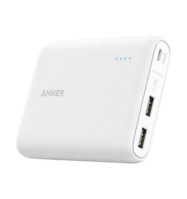 Anker PowerCore 13000 mAh Wit Powerbank goedkoop online kopen en ook nooit meer een lege accu? Bestel hem nu bij CoolBlue