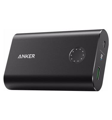 Anker PowerCore+ Powerbank Quick Charge 10.050 mAh Zwart Powerbank goedkoop online kopen en ook nooit meer een lege accu? Bestel hem nu bij CoolBlue