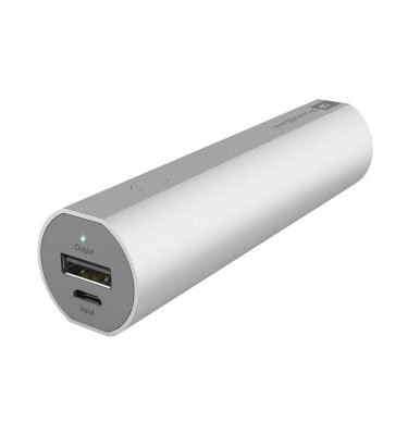 GP Portable Powerbank FN03 3.000 mAh Zilver Powerbank goedkoop online kopen en ook nooit meer een lege accu? Bestel hem nu bij CoolBlue