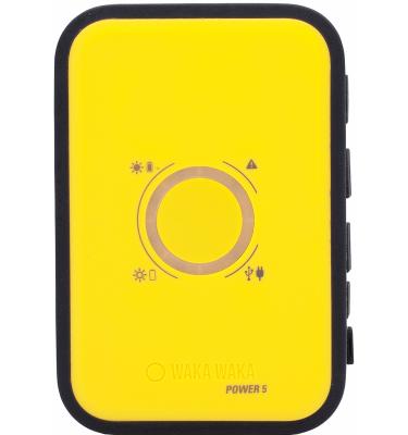WakaWaka Power 5 5000 mAh Geel Powerbank goedkoop online kopen en ook nooit meer een lege accu? Bestel hem nu bij CoolBlue