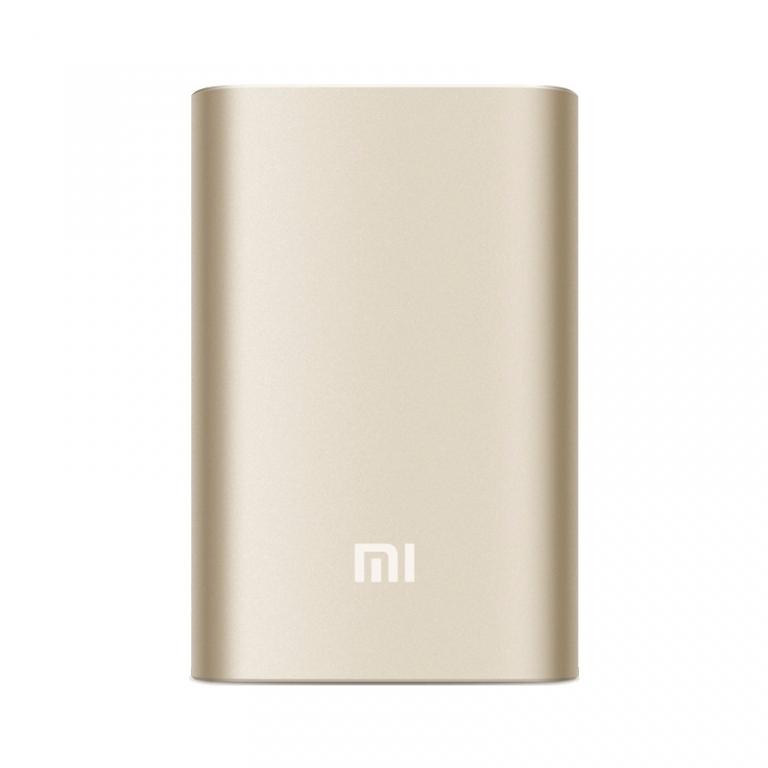Xiaomi Mi Powerbank 10.000 mAh Goud Powerbank goedkoop online kopen en ook nooit meer een lege accu? Bestel hem nu bij CoolBlue
