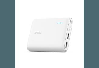 Nooit meer een lege accu met de volgende voordelige powerbank: ANKER PowerCore 10400 mAh met PowerIQ Wit