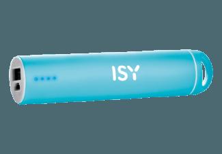 Nooit meer een lege accu met de volgende voordelige powerbank: ISY IAP 1403 powerbank 2200 mAh blauw