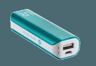 Nooit meer een lege accu met de volgende voordelige powerbank: TRUST Powerbank 2200 blauw