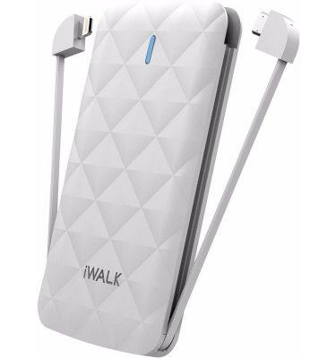 iWalk Duo Powerbank 3000 mAh Wit Powerbank goedkoop online kopen en ook nooit meer een lege accu? Bestel hem nu bij CoolBlue