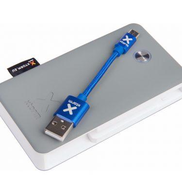 Xtorm Travel Powerbank 6.700 mAh Wit/Grijs Powerbank goedkoop online kopen en ook nooit meer een lege accu? Bestel hem nu bij CoolBlue