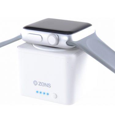 Zens Apple Watch Powerbank Wit Powerbank goedkoop online kopen en ook nooit meer een lege accu? Bestel hem nu bij CoolBlue