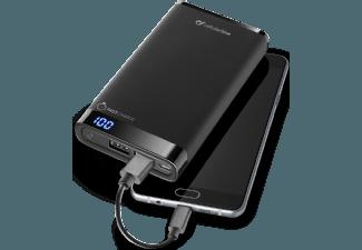 Nooit meer een lege accu met de volgende voordelige powerbank: CELLULAR-LINE Free Power Manta 12000 mAh Slim Zwart