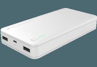Nooit meer een lege accu met de volgende voordelige powerbank: GP 3C15A powerbank 15600 mAh wit