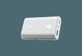 Nooit meer een lege accu met de volgende voordelige powerbank: ANKER PowerCore+ 10050 mAh QuickCharge 3.0 Zilver