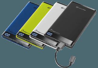 Nooit meer een lege accu met de volgende voordelige powerbank: CELLULAR-LINE Free Power Manta 6000 mAh Slim Zwart