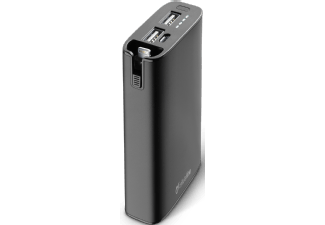 Nooit meer een lege accu met de volgende voordelige powerbank: CELLULAR-LINE Portable Charger Power Com 6700 mAh Lightning Zwart