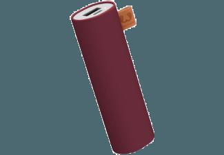 Nooit meer een lege accu met de volgende voordelige powerbank: FRESH 'N REBEL Fresh 'n Rebel Powerbank 3000 mAh Ruby