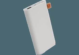 Nooit meer een lege accu met de volgende voordelige powerbank: FRESH 'N REBEL Fresh 'n Rebel Powerbank 6000 mAh Cloud