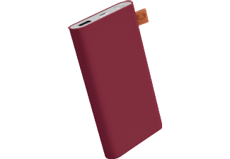 Nooit meer een lege accu met de volgende voordelige powerbank: FRESH 'N REBEL Fresh 'n Rebel Powerbank 6000 mAh Ruby