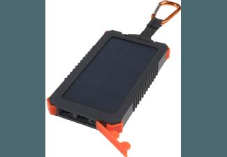 Nooit meer een lege accu met de volgende voordelige powerbank: XTORM AM123 Solar Charger Instinct 10.000 mAh Zwart