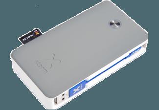Nooit meer een lege accu met de volgende voordelige powerbank: XTORM XB200LU Powerbank Travel Lightning 6.000 mAh Grijs/Wit