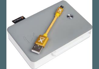 Nooit meer een lege accu met de volgende voordelige powerbank: XTORM XB201LU Powerbank Explore 9.000 mAh Lightning Grijs/Wit