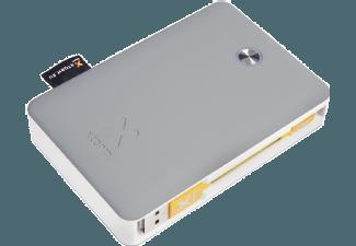Nooit meer een lege accu met de volgende voordelige powerbank: XTORM XB201U Powerbank Explore 9.000 mAh Grijs/Wit