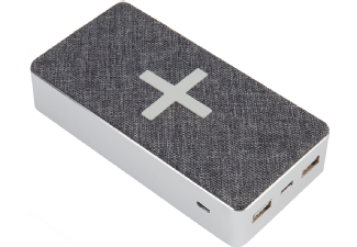 Nooit meer een lege accu met de volgende voordelige powerbank: XTORM XW301 Qi Powerbank 16.000 mAh Motion Grijs