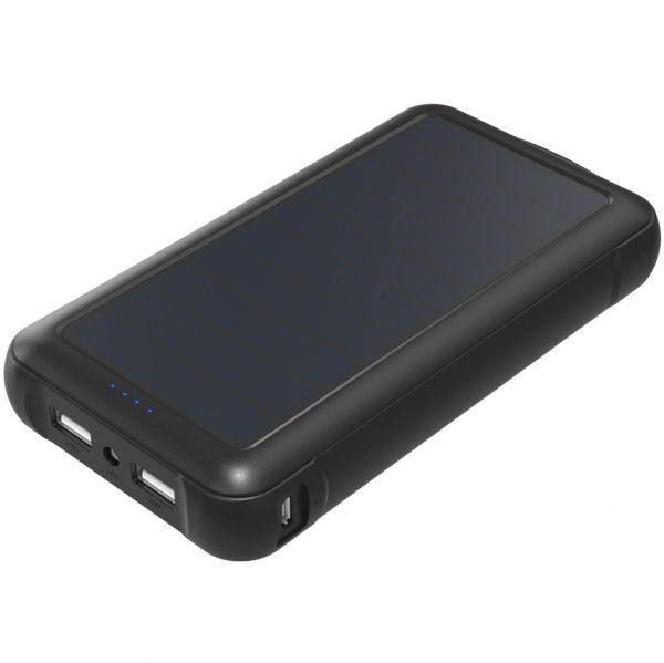 Aukey PB-17 Solar Powerbank 20.000 mAh Zwart Powerbank goedkoop online kopen en ook nooit meer een lege accu? Bestel hem nu bij CoolBlue