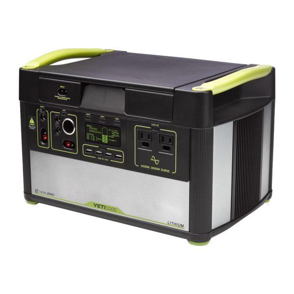 Goal Zero Yeti 1000 Generator 1045 Wh / 96.800 mAh Powerbank goedkoop online kopen en ook nooit meer een lege accu? Bestel hem nu bij CoolBlue
