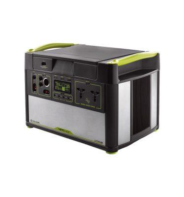 Goal Zero Yeti 1400 Generator 1425 Wh / 132.000 mAh Powerbank goedkoop online kopen en ook nooit meer een lege accu? Bestel hem nu bij CoolBlue