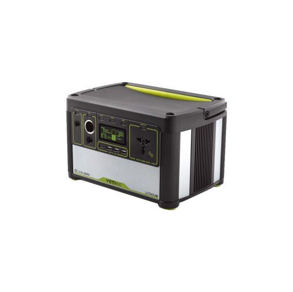Goal Zero Yeti 400 Generator 428 Wh / 39.600 mAh Powerbank goedkoop online kopen en ook nooit meer een lege accu? Bestel hem nu bij CoolBlue