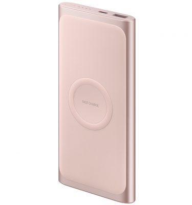 Samsung Battery Pack Draadloze Powerbank 10.000 mAh Samsung Fast Charge Roze Powerbank goedkoop online kopen en ook nooit meer een lege accu? Bestel hem nu bij CoolBlue
